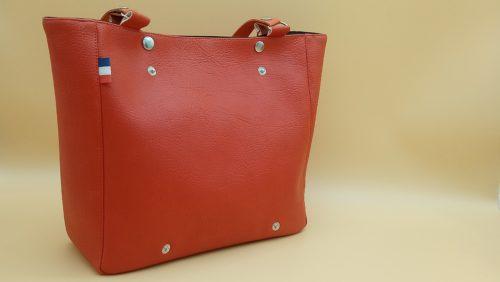 sac a main femme terracotta