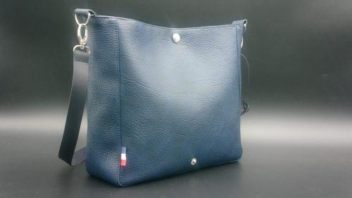 sac bandouiliere femme bleu marine