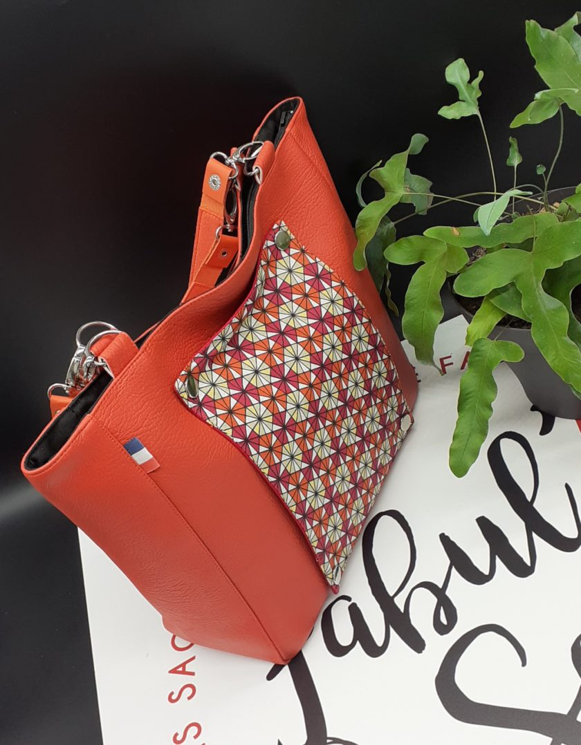 sac a main femme orange